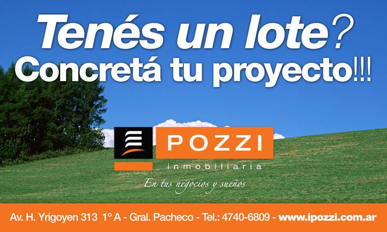Venta De Lote En Pacheco Zona Norte